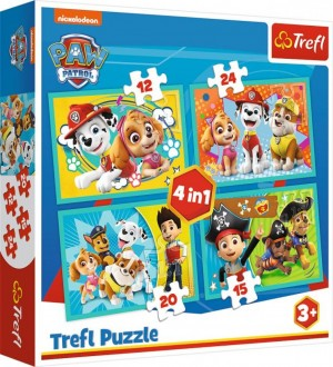 4 in 1 Puzzle-Paw Patrol