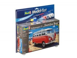 "Model Set Volkswagen T1 ""SAMBA BUS"""