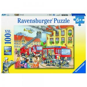Unsere Feuerwehr Puzzle 100 Teile XXL