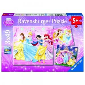 DPR: Schneewittchen 3 x 49 Teile Puzzle