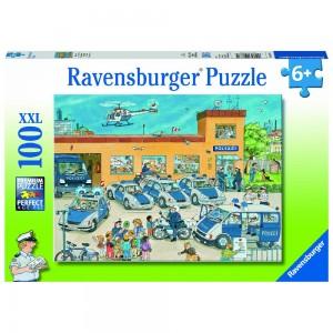 Polizeirevier Puzzle 100 Teile XXL