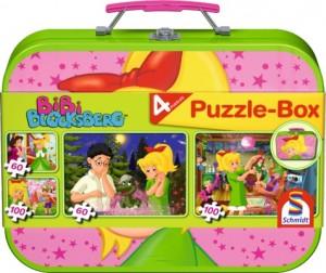 Bibi Blocksberg, Puzzle-Box 2x METALLKOFFER
