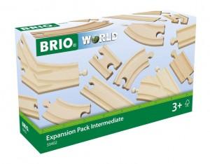 BRIO Mittleres Schienensortiment