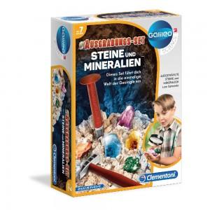 Galileo - Ausgrabungs-Set - Steine + Mineralien