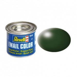 dunkelgrün, seidenmatt