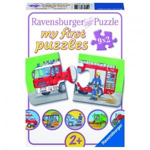 Einsatzfahrzeuge 9x2 Teile My first puzzles