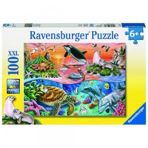 Bunter Ozean Puzzle 100 Teile XXL
