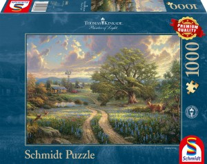 Country Living Puzzle 1000 Teile THOMAS KINKADE
