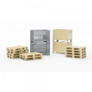 Bruder 02415 Zubehör: Logistik-Set