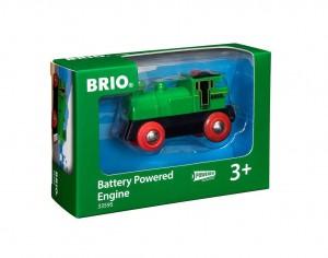 BRIO Speedy Green Batterielok