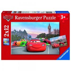 DCA: Lightning McQueen und seine Freunde 2 x 12 Teile Puzzle