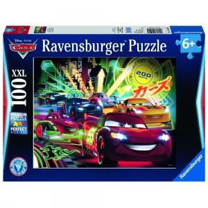 DCA: Cars Neon Puzzle 100 Teile XXL