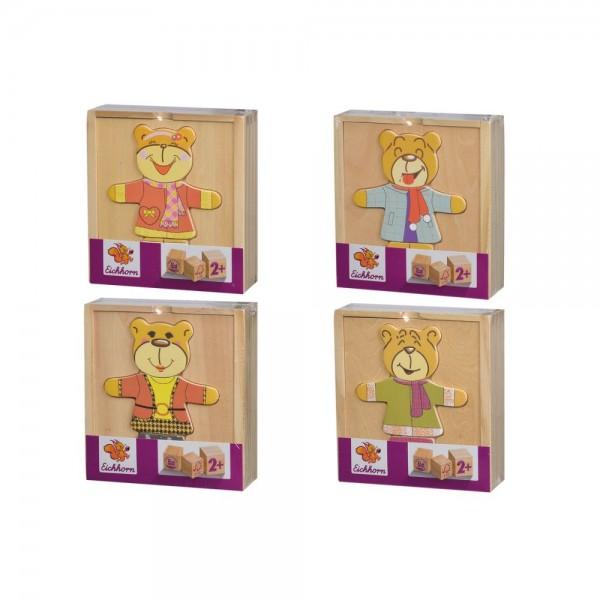 Eichhorn Bären-Puzzle, 4-sort.