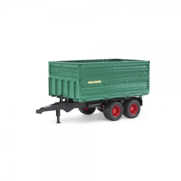 BruderTandemachs-Transportanhänger 02010