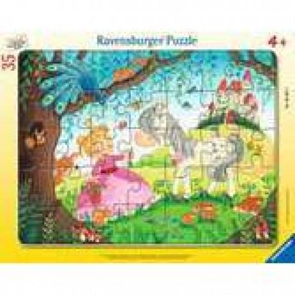 Im Land der kleinen Prinzessin Rahmenpuzzle 30-48 Teile