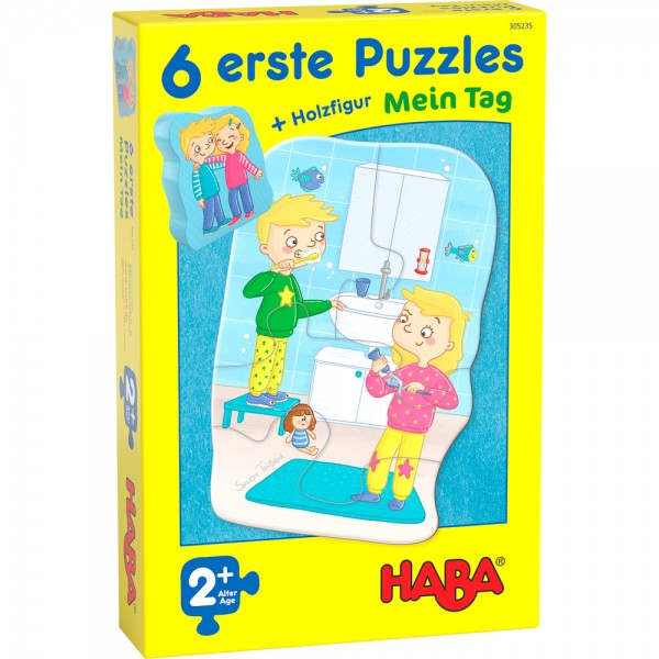 6 erste Puzzles – Mein Tag HABA