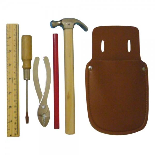 Werkzeugtasche aus Leder