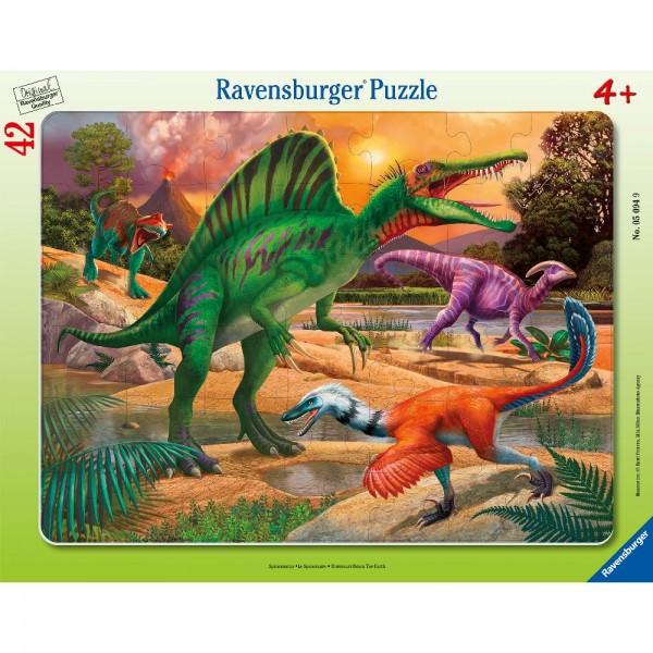 Spinosaurus Rahmenpuzzle 30-48 Teile