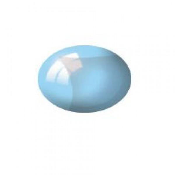 Aqua blau, klar