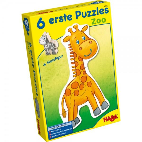 6 erste Puzzles - Zoo HABA